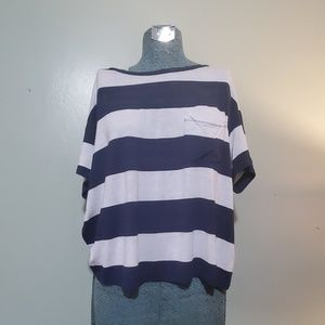 American Eagle soft and sexy striped t shirt